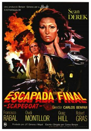 Cartel de Escapada final (Scapegoat)
