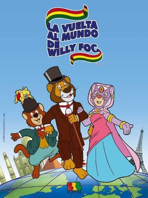 Cartel de La vuelta al mundo de Willy Fog (TV)