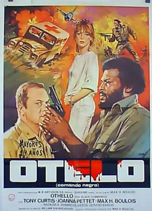 Cartel de Othello, el comando negro