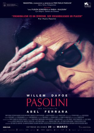 Cartel de Pasolini