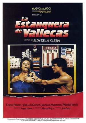 Cartel de La estanquera de Vallecas