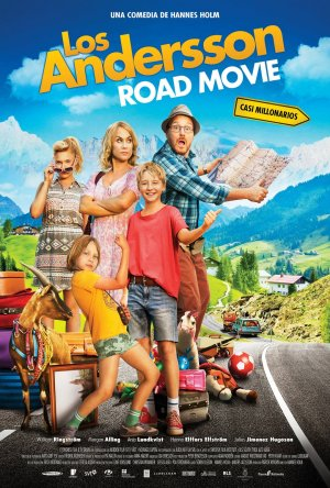 Cartel de Los Andersson Road Movie