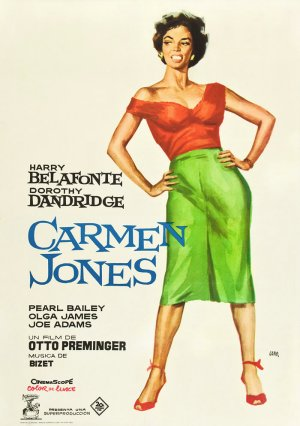 Cartel de Carmen Jones