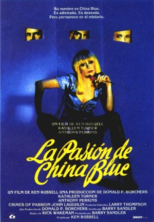 Cartel de La pasión de China Blue
