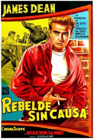 Cartel de Rebelde sin causa