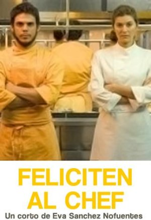 Cartel de Feliciten al Chef