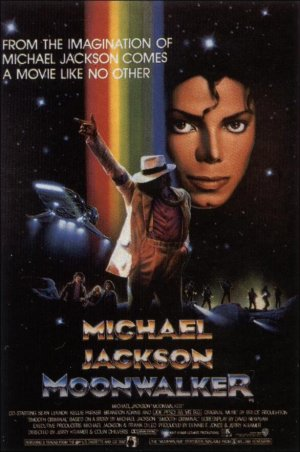 Cartel de Moonwalker