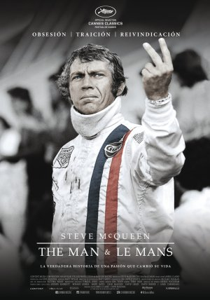 Cartel de Steve McQueen: The man & Le Mans