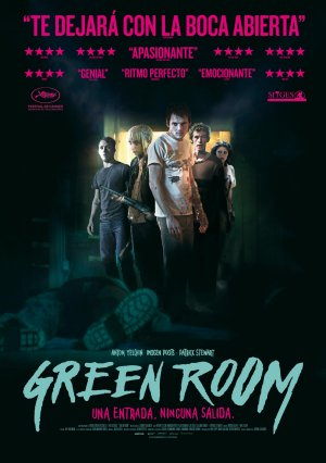 Cartel de Green room