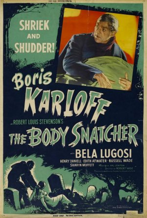 Cartel de The Body Snatcher