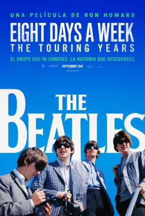 Cartel de The Beatles: Eight days a week - The touring years
