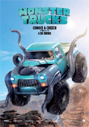 Cartel de Monster trucks