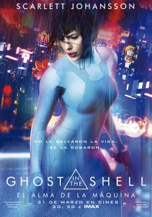 Cartel de Ghost in the shell (El alma de la máquina)