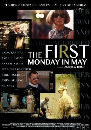 Cartel de The first monday in may