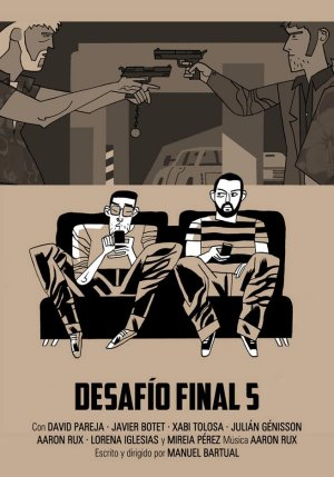 Cartel de Desafío final 5