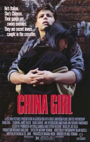 Cartel de China girl
