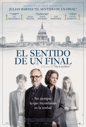 Cartel de El sentido de un final