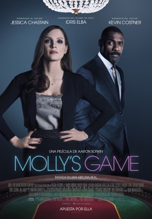 Cartel de Molly's game