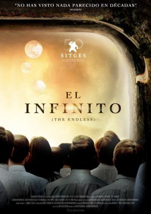 Cartel de El infinito (The Endless)
