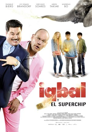 Cartel de Iqbal y el superchip