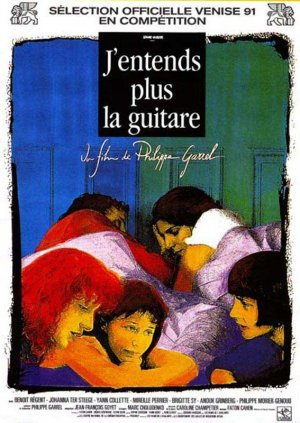 Cartel de J'entends plus la guitare