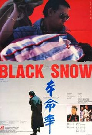 Cartel de Black Snow
