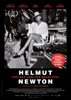 Cartel de Helmut Newton: The bad and the beautiful